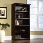 Estate Black 5-Shelf Library Bookcase