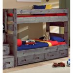 Fort Driftwood Rustic Twin-over-Twin Bunk Bed