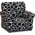 Freehand Black/White Club Chair