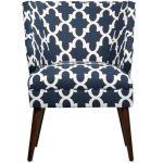 Fynn Blue Modern Chair