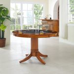 Game Table with Pedestal Base – Reynolds