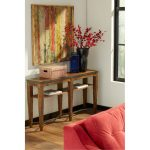 Gingko Coffee Brown Sofa Table – Trisha Yearwood