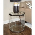 Glass End Table – Brahm