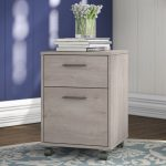 Gray 2-Drawer Mobile File – Key West