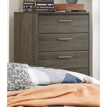 Gray & Black Contemporary Chest of Drawers – Oxon