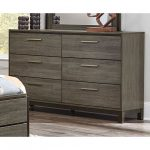 Gray & Black Contemporary Dresser – Oxon