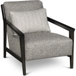 Gray & Brown Accent Chair – Pacey