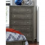 Gray Casual Classic Chest of Drawers – Garcia