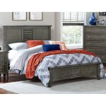 Gray Casual Classic Twin Bed – Garcia
