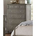Gray Classic Traditional Chest of Drawers – Albright