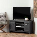 Gray Corner TV Stand (40 Inch) – Exhibit