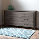 Gray Maple 6-Drawer Double Dresser – Gravity