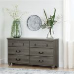 Gray Maple 6 Drawer Dresser – Noble