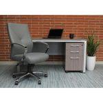Gray Modern Executive Office Chair – Kylark
