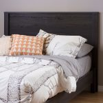 Gray Oak Full Panel Headboard – Fynn