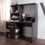 Gray Oak Home Office Computer Desk – Annexe