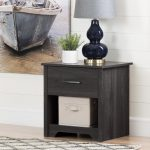 Gray Oak Nightstand – Fusion