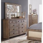 Gray Solid Pine Dresser – Willow Collection