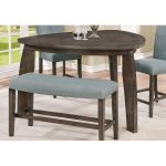 Gray Tri Counter Height Dining Table – Hollis