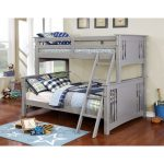 Gray Twin-over-Full Bunk Bed – Spring Creek