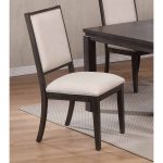 Gray Upholstered Contemporary Dining Chair – Hartford