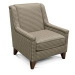 Gray and Beige Accent Chair – Kemp