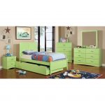 Green Pull-out Trundle