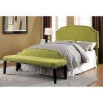 Green Upholstered Full-Queen Headboard – Mira