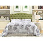 Green Upholstered Full/Queen Headboard – Venice