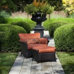Hanover Outdoor Strathmere Allure Oversized Armchair & Ottoman