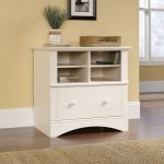 Harbor View Antiqued White Lateral File