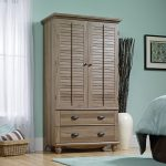 Harbor View Salt Oak Armoire
