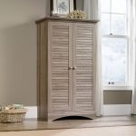 Harbor View Salt Oak Storage Cabinet