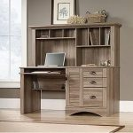 Harbor View Sauder Computer Desk with Hutch