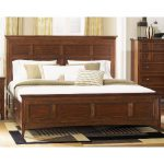 Harrison Cherry Casual Traditional King Storage Bed