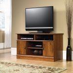 Harvest Mill Abbey Oak Panel TV Stand