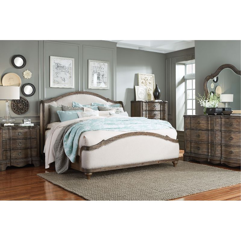 Beautiful Tranquility Is The Bedroom Youu0027ll Create With This Classic Yet  Contemporary King Bedroom Set From RC Willey. The Upholstered Bed Is The  Crowning ...