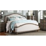 Havana Upholstered Queen Size Bed – Parliament
