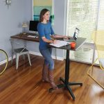 Hazelnut Adjustable Desk 35