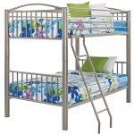 Heavy Metal Pewter Twin-over-Twin Bunk Bed