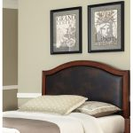 Home Styles Brown Leather Queen Panel Headboard – Duet