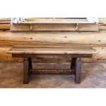 Homestead 45 Inch Plank Style Bench