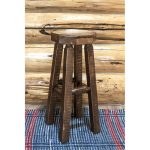 Homestead Backless Rustic Barstool