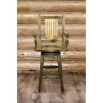 Homestead Captain's Swivel Barstool