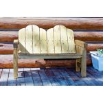 Homestead Outdoor Deck Bench