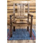 Homestead Rustic Captain's Chair