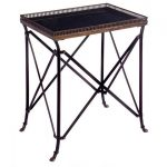 IMAX Black Accent Table