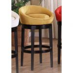 Igloo Ebony/Yellow 30 Inch Swivel Barstool