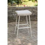Indoor-Outdoor Backless Counter Stool – Flynn