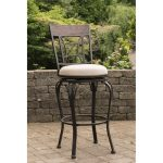 Indoor-Outdoor Swivel Bar Stool – Kent